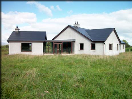 Pin greenhus timber frame house plans ireland eco farmhus for Bungalow house plans ireland